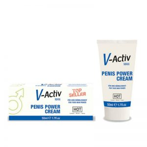 Crema Penis V-Activ power Hot 50 ml