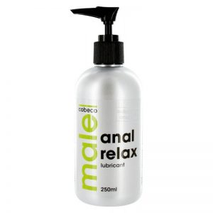 Lubrifiant pe baza de apa Cobeco Anal MALE anal relax 250 ml