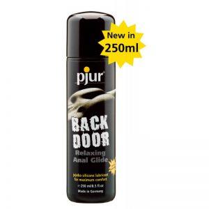 Lubrifiant pe baza de silicon Pjur back door relaxing anal glide 250 ml 827160107017