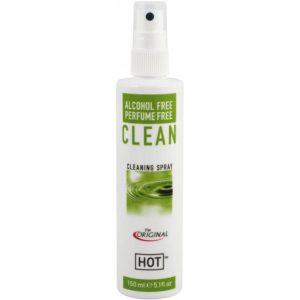 Solutie de curatare jucarii erotice Hot Antibacterial Fara alcool Spary 150 ml