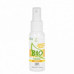 Solutie de curatare jucarii erotice Hot Bio Spray 50 ml